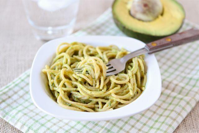 Creamy Avocado Pasta Recipe | Two Peas & Their Pod