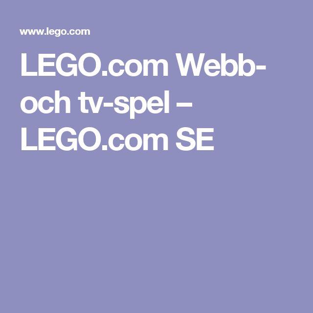 LEGO.com Webb- och tv-spel – LEGO.com SE