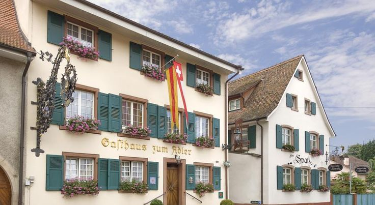 Hotel-Restaurant Adler Weil Am Rhein Dating from 1548, this elegant hotel in Weil am Rhein offers widely appreciated cuisine and  easy access to the cultural highlights of the French, German and Swiss country triangle.