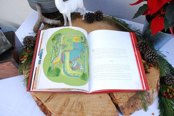 "Illustration ""navidad en la selva"" in the book ""fiestas de yule"" - Christmas short stories. visit www.behance.net/casusolivas"