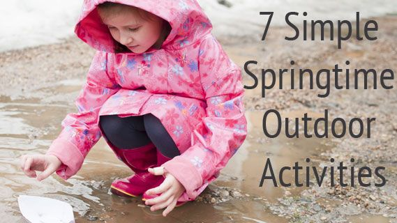 7 Simple Springtime Outdoor Activities: Activities for Kids: Adventures In Learning #AETN #BeMore #PBSParents