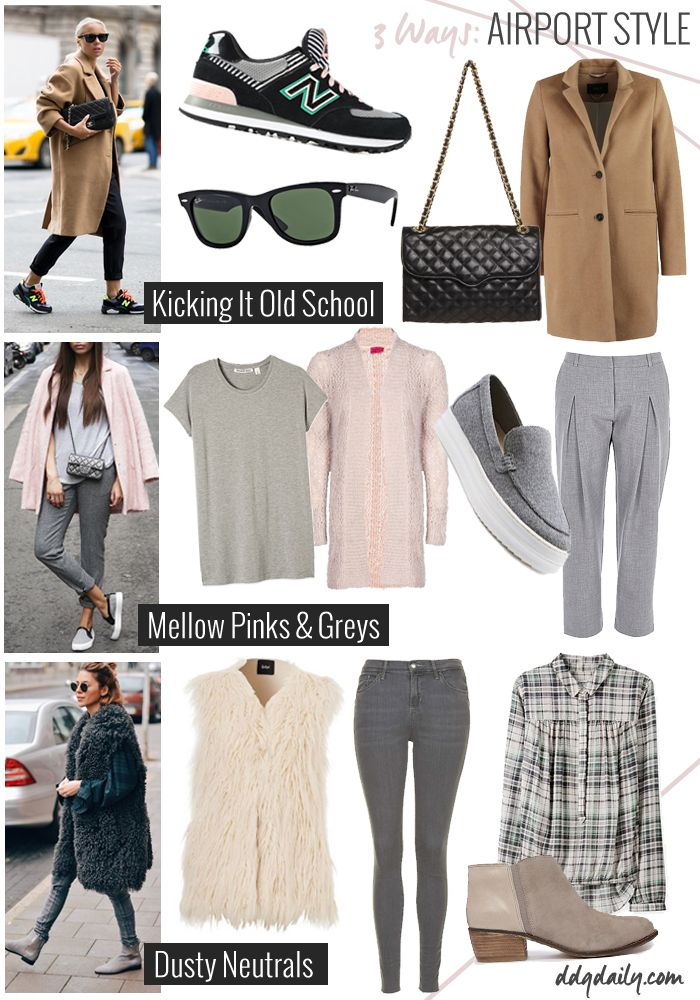 AIRPORT STYLE TIPS: 3 COMFY TRAVEL LOOKS FOR YOUR NEXT GETAWAY