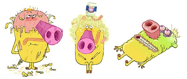 77 best ill yoann hervo images on pinterest character design character design references and - Hubert et takako ...