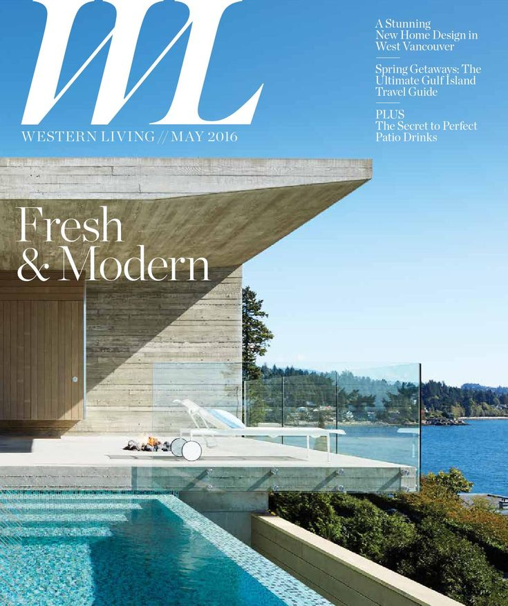Western Living - BC, May2016 Western Living magazine entertains readers on the subject of home design, food and wine, and travel and leisure. As Canada's largest regional magazine, Western Living invites readers to stretch their imaginations about living in the West: we share what intrigues, surprises and thrills us about people, places, homes, gardens, food and adventure from Winnipeg to Victoria and everywhere in-between.