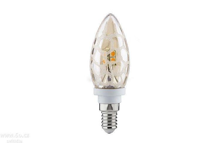 Led Wandstrahler Stripes : Paulmann svíčková LED žárovka zlatá krokodýlí kůže, 2,5W