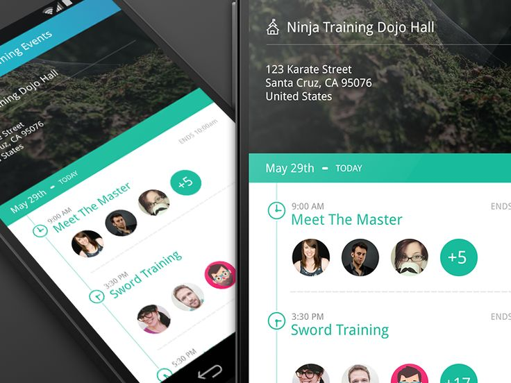 Android - Campus App by Eric Hoffman for JellyJar Co