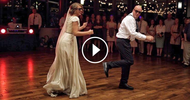 Ce père et sa fille ont étonné tous les invités avec leur danse de mariage
