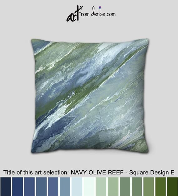Peachy Decorative Green Blue And White Throw Pillows For Bed Decor Ibusinesslaw Wood Chair Design Ideas Ibusinesslaworg