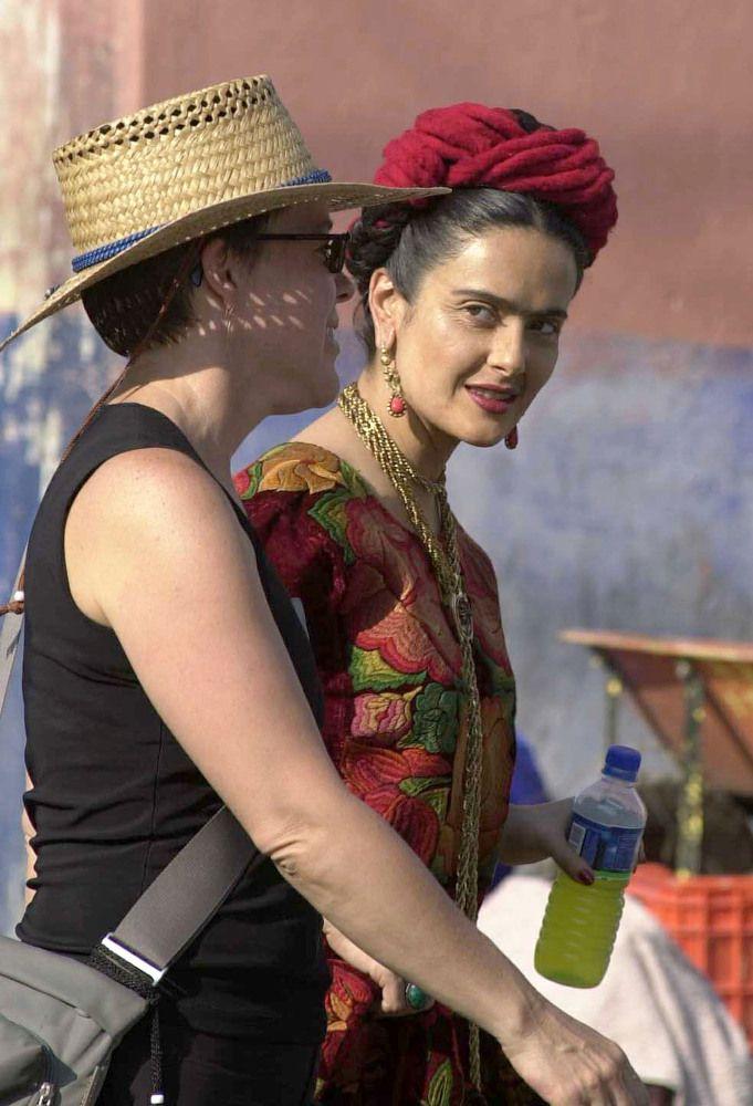 """Salma Hayek As Frida Kahlo For """"Frida,"""" April 2001"""
