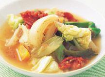 6つの野菜を切って煮るだけ。簡単、おいしい、効果がある! と一大ブームになった毒出し脂肪燃焼スープ。