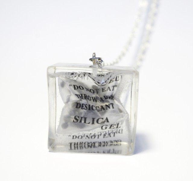 Silica Gel Resin Pendant - Necklace - Celine Strömbäck