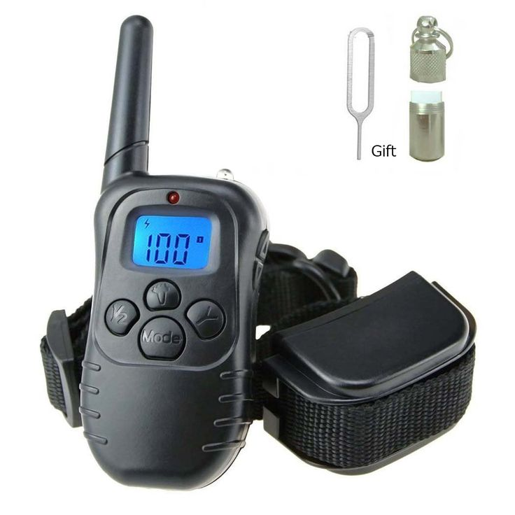 Gracetop Dog Training Collar With Remote Rechargeable and Rainproof LCD Screen 330 Yard Beep/Vibration/Shock Electric Train Collars For Small,Medium,Large PetsandDogs(For 1 Dog) * More info could be found at the image url. (This is an affiliate link and I receive a commission for the sales)