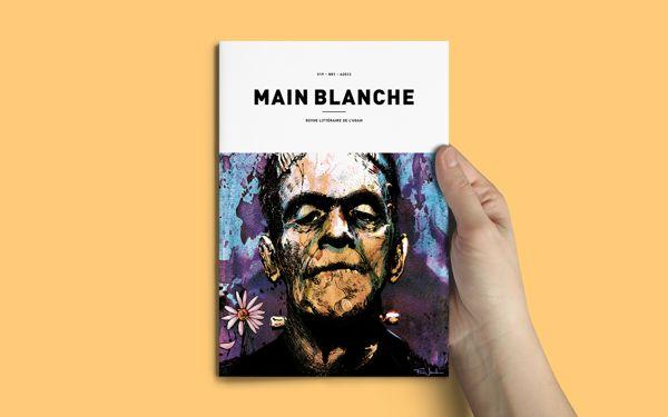 Main Blanche : Revue littéraire de l'UQAM on Behance