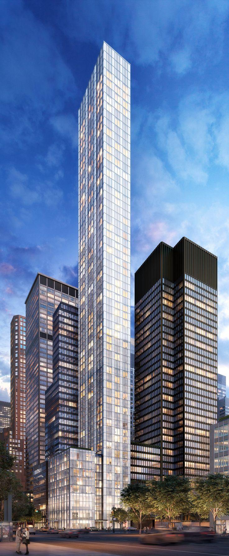 NEW YORK   610 Lexington Ave   712 FT / 216 M l 66 FLOORS - Page 11 - SkyscraperPage Forum