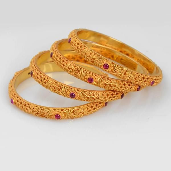The 25 best Gold bangles design ideas on Pinterest