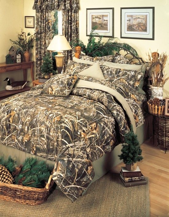 27 Best Images About Camo Bedroom Decor On Pinterest | Deer