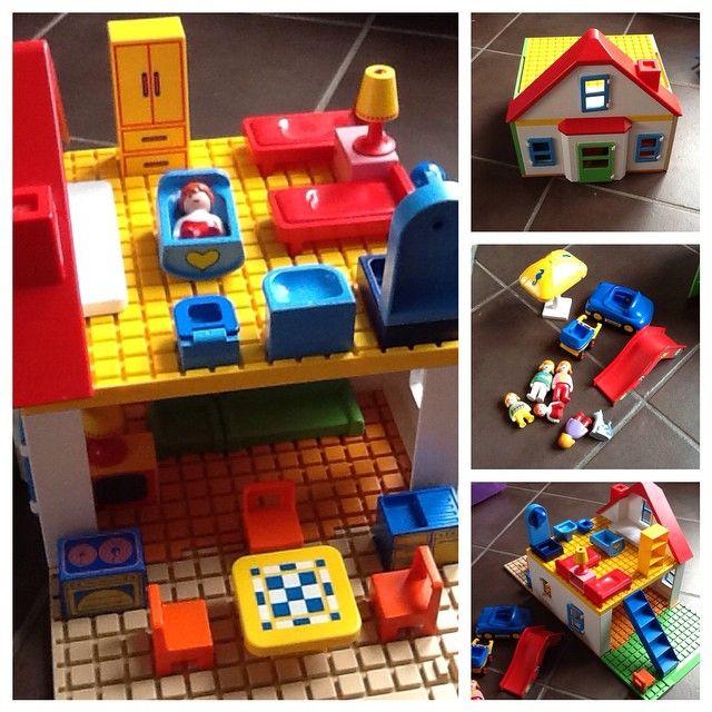 Maison playmobil 123 avec de nombreux accessoires #playmobil #cadeau #noel #jeu #jouet #lehavre prix : 15 euros hors FDP ( 8 euros ) #lehavre #seinemaritime #normandie