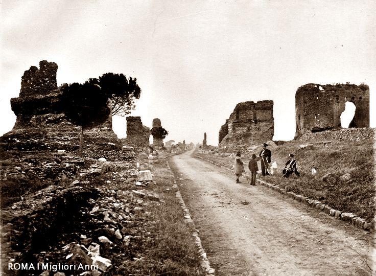 Via Appia Antica 1900.