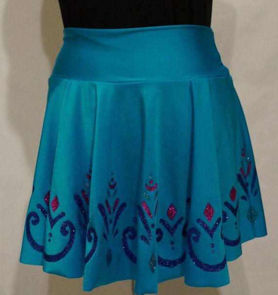Elsa Coronation Frozen Running Skirt: by RunPrincessRun on Etsy
