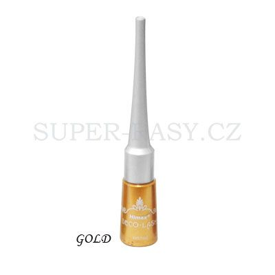 Exkluzivní glitrové oční linky 15ml (zlaté)