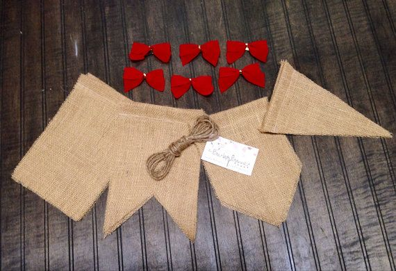 38 best burlap banner images on pinterest burlap banners diy diy 6x9 christmas burlap banner kit with bows by theburlapbanner 1800 solutioingenieria Choice Image