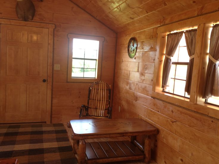 Cabins Built By Mennonite.