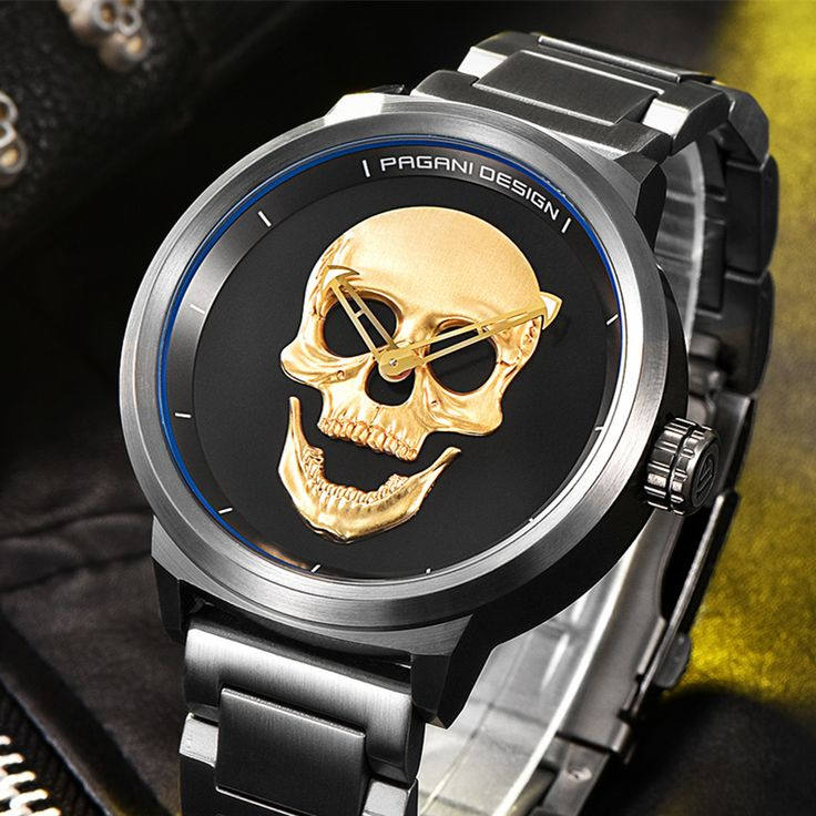 ==> [Free Shipping] Buy Best PAGANI DESIGN Mens Watch fashion Luxury Brand Clock Male Casual Sport Wristwatch Men Pirate Skull Style Quartz Watch Reloj Hombe Online with LOWEST Price | 32810207054