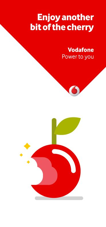 Vodafone Cherry Points. by Markus Magnusson, via Behance
