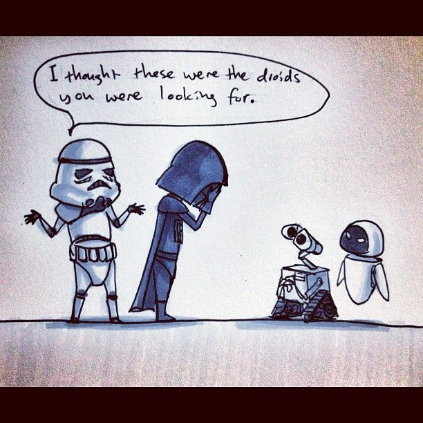The droids you were looking for