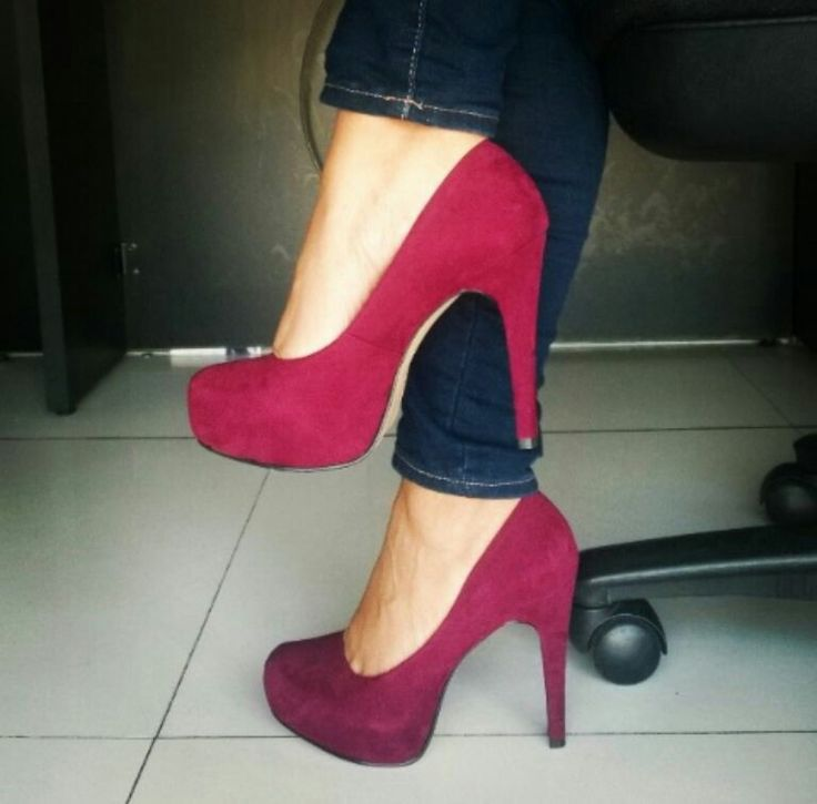 #Shoes #HighHeels #Perugia #Wine #Red #LoveShoes