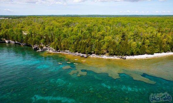 استمتع بمعالم بحيرة ميشيغان وقم برحلة لمدة أسبوعين Michigan Travel Lake Michigan Beach Pictures