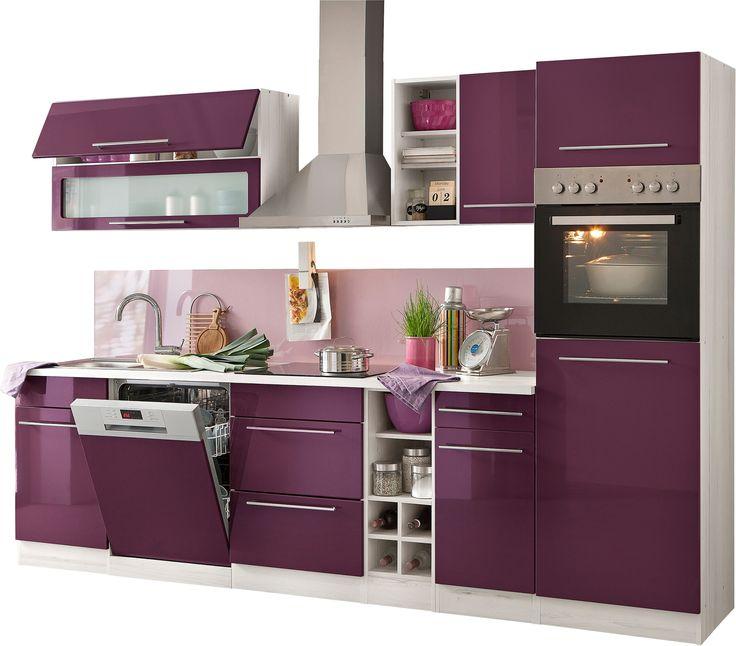 Küchenzeile mit E-Geräten »Fulda, Breite 240 cm« - küchenzeile 240 cm mit geräten