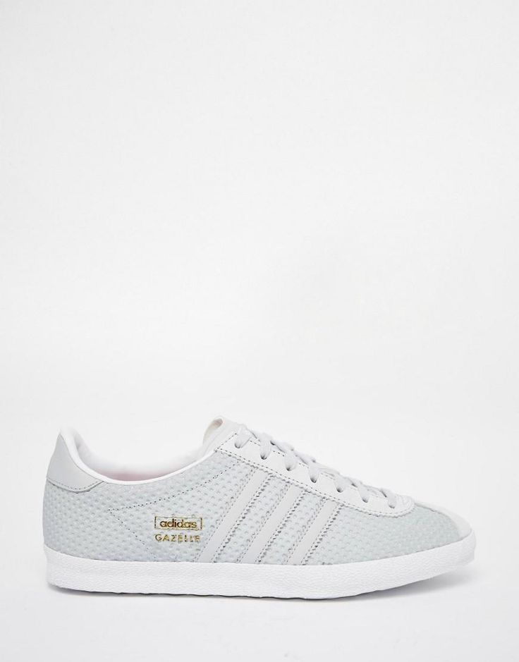Image 1 of adidas Originals Clear Grey Gazelle Trainers