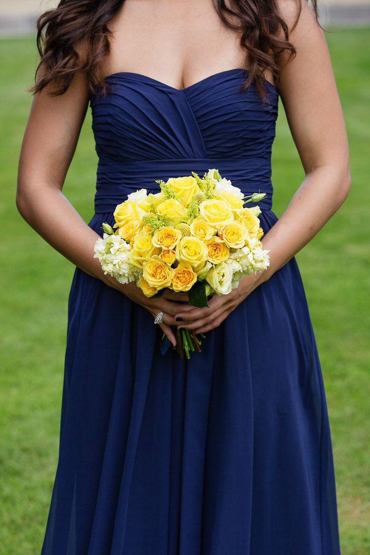 Navy and yellow Photography By / http://sarahpostma.com,Wedding Coodinator By / http://cloudnoveevents.com