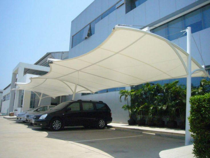 Car Parking Membrane Structure Car Awning Awnings Parking