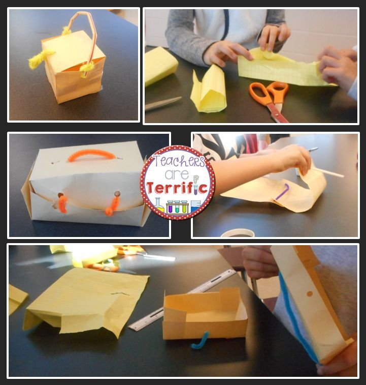 STEM Quick Challenge Design a Container | Stem projects ...