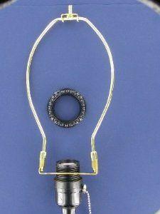 slip uno adapter harp converter lamp shade uno euro fitter. Black Bedroom Furniture Sets. Home Design Ideas