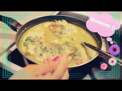 TORTITAS DE CILANTRO EN SALSA VERDE!♡ - YouTube