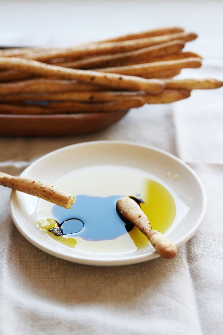 Homemade Grissini Breadsticks