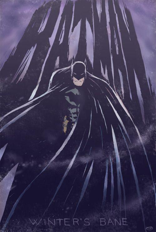 Batman - Winter's Bane by Mark StraussComics Art, Comics Book, Batman Overload, Batman Geek, Things Batman, Winter Bane, Dark Knights, Mark Strauss, Batman Beyond Commissioner