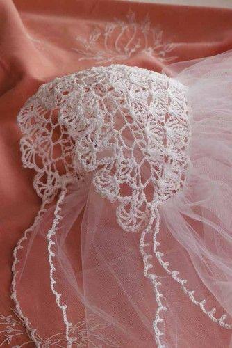 free pattern monday crochet a bride 39 s sachet hanger best crochet patterns pinterest head. Black Bedroom Furniture Sets. Home Design Ideas