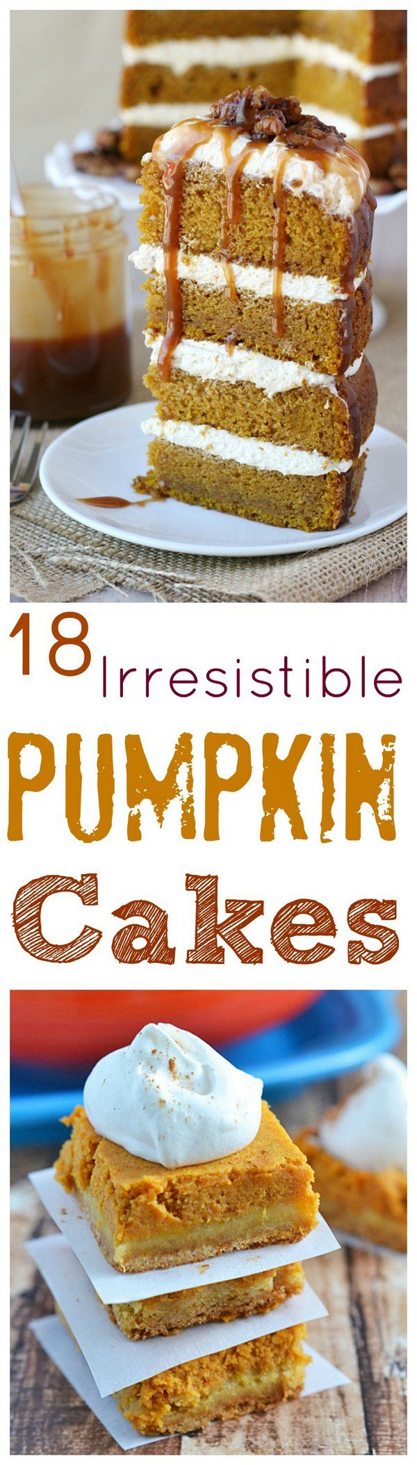 18 Irresistible Pumpkin Cakes for Fall
