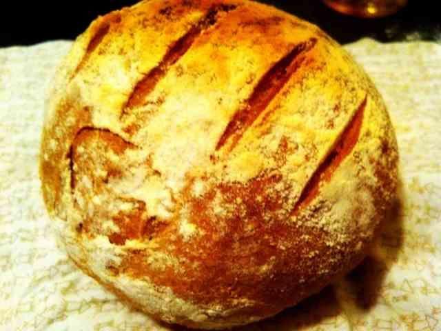 こねない!長時間発酵のいつでも焼けるパンの画像