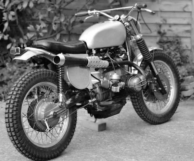 Dust Motorcycles BMW R80 Scrambler TRI-BEEMER - RocketGarage - Cafe Racer Magazine