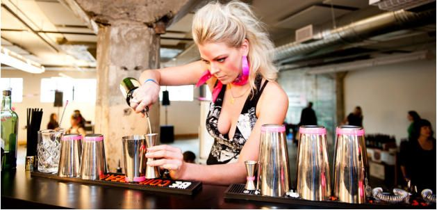 Hire a flair bartender in Leeds www.hireabarman.com