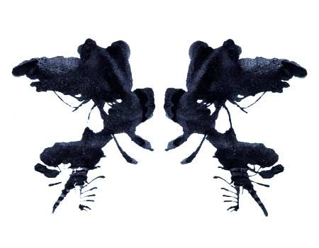 Rorschach Inkblot - Take the test at http://www.theinkblot.com/