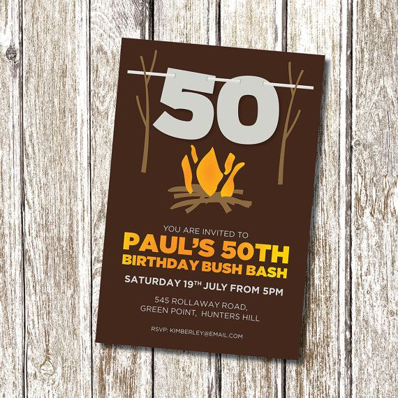 17 Best Ideas About 50th Birthday Party Invitations On