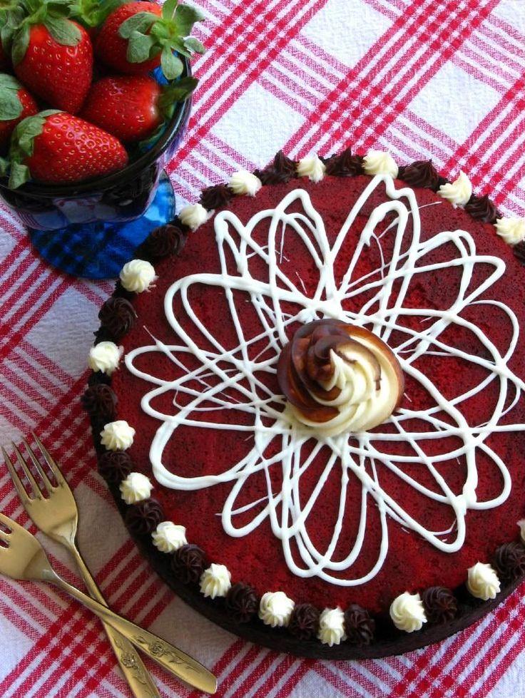 Red Velvet Cheesecake - Willow Bird Baking