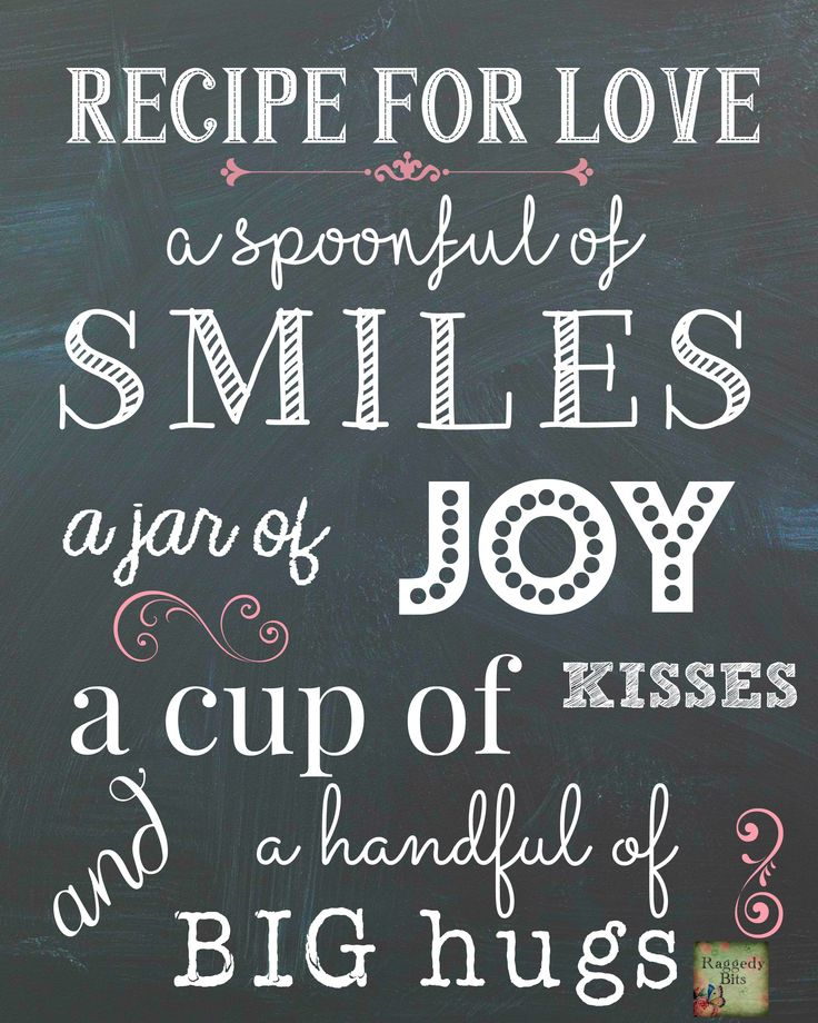 Recipe for Love!