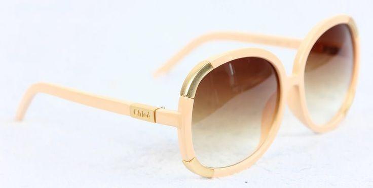 Очки CHLOE кремового цвета #18516 !! Последняя распродажа модели !! Продаётся с большой скидкой !! !! Отличное качество и низкая цена !!